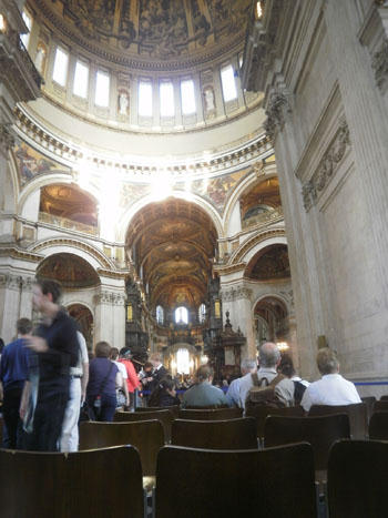 St. Paul´s Cathedral Whispering Gallery