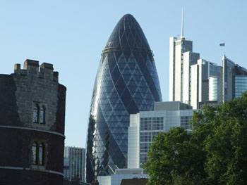 Bauwerke in London: The Gherkin